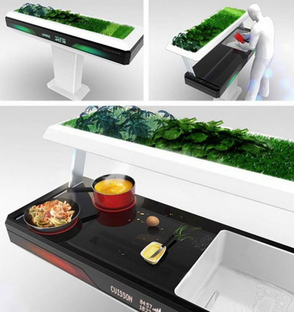 Control Technology Of The Kitchen Tuesday Kitchen Of The Future