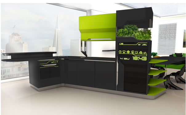 Kitchen Design And Layout Kitchen Of The Future
