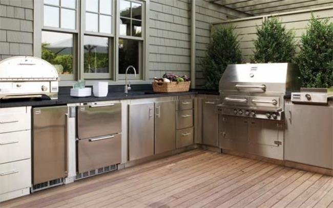 OUTDOOR KITCHEN: PAST, PRESENT, AND FUTURE – Kitchen of The Future