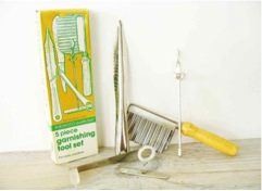 GARNISHING TOOL SET