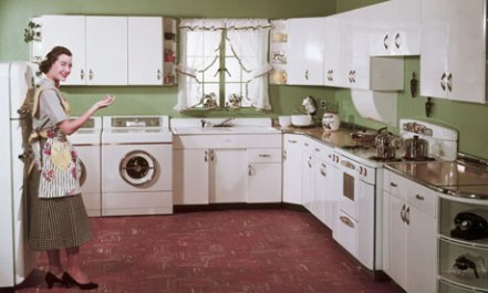 1950s Kitchen Interior
